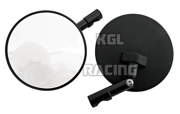 Ronde Zwarte Spiegel : Stuur einde spiegel spiegel ronde zwarte verstelbare [301 078