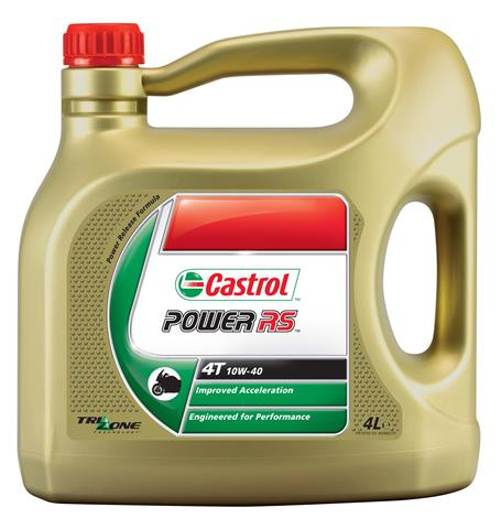 4-T Castrol Power RS 4T 10W40 - 4L Semi Synthetisch
