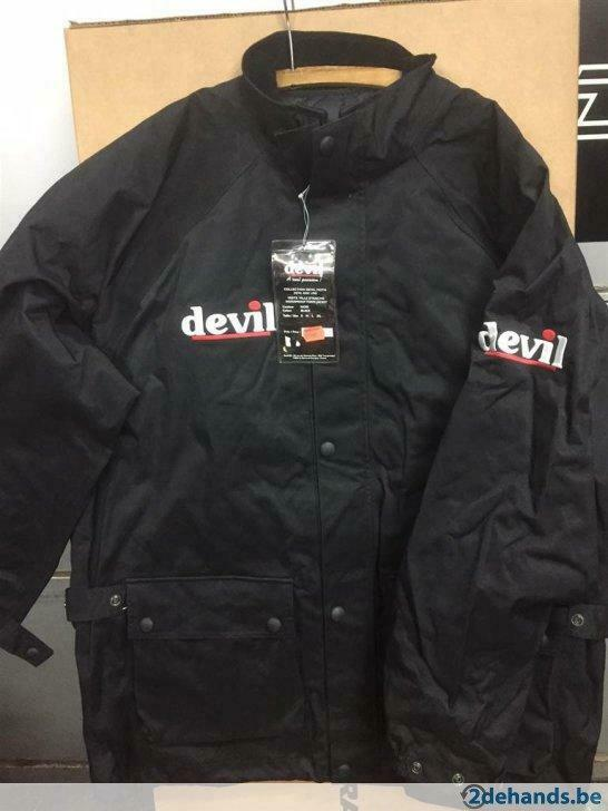 New Devil waterproof TOWN Jacket - Size LARGE