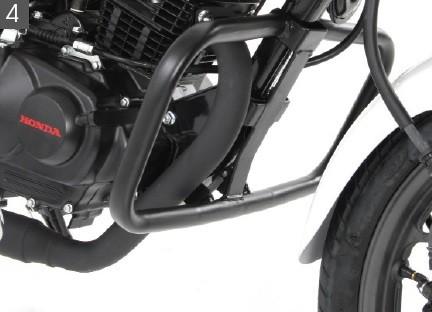 protection chute honda cb125f 39 15 moteur 501139 00 01 la boutique moto en ligne. Black Bedroom Furniture Sets. Home Design Ideas