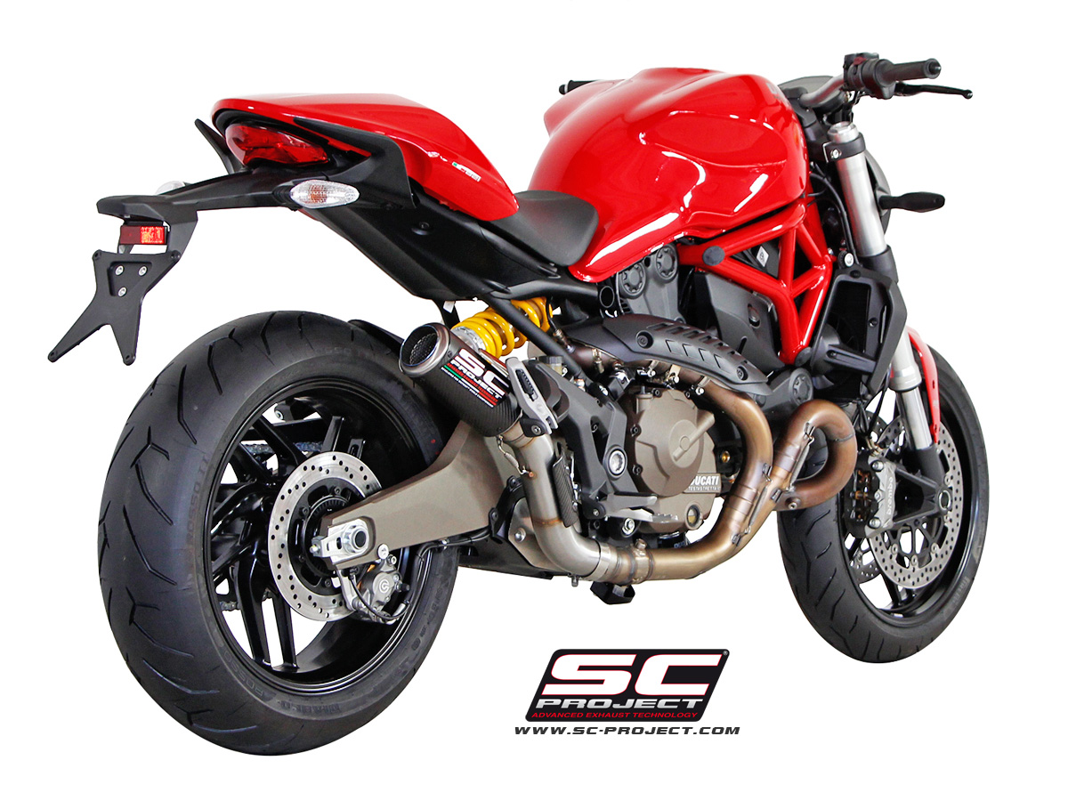 SC Project Slip On DUCATI MONSTER 821