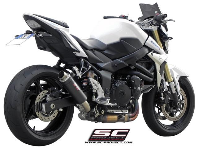 sc project slip on suzuki gsr 750 gp m2 carbon s07 18c the online motor shop for all bike. Black Bedroom Furniture Sets. Home Design Ideas