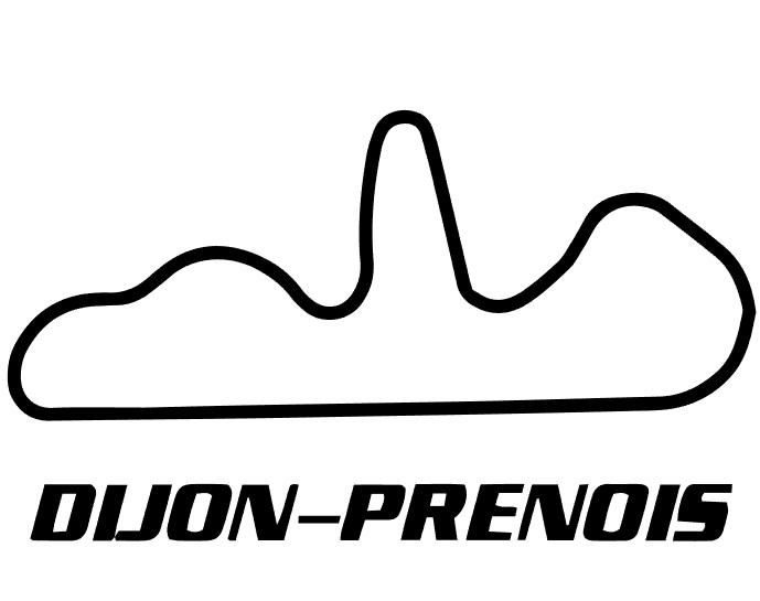 circuit dijon prenois sticker kgl racing de online motor shop voor iedere motorliefhebber. Black Bedroom Furniture Sets. Home Design Ideas