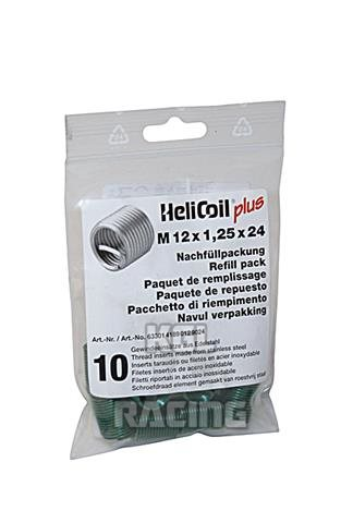 Helicoil M12 X 1 25 X 24 Mm Refill Pack With 10 Thread