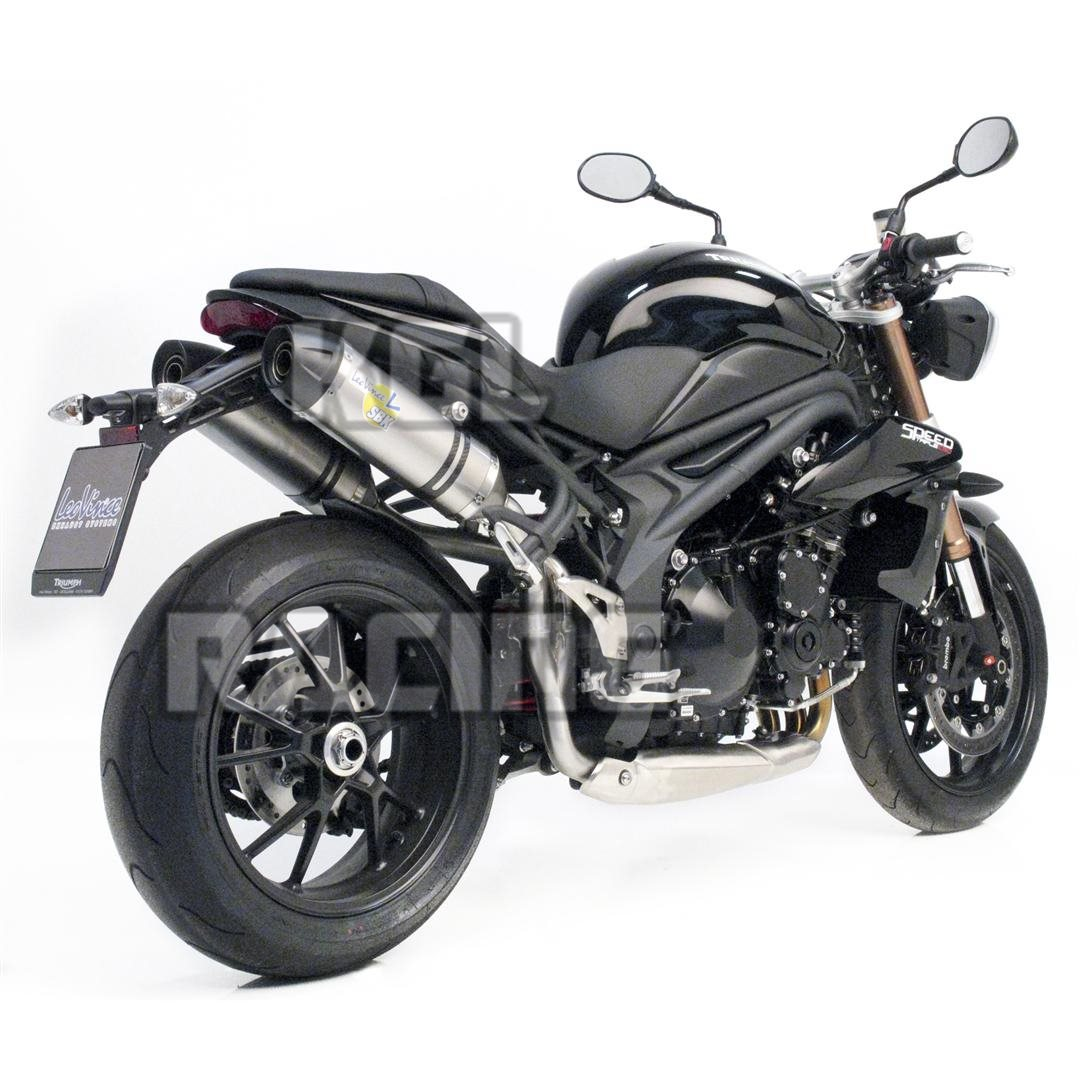 Leovince dempers TRIUMPH SPEED TRIPLE 1050 '11-'13 LV ONE INOX - PROMO