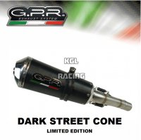 GPR SLIP-ON DEMPER TRIUMPH SPEED TRIPLE 1050 2011/15 DARK STREET CONE - PROMO