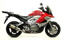 "Arrow voor Honda CROSSRUNNER 800 '11-'14 - Race-Tech aluminium ""Dark"" demper met carbon eindkap"