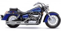 COBRA UITLAAT HONDA Aero 750 '04-07 / VT750C Shadow - FULL SYSTEM Lo-Boys Shotgun