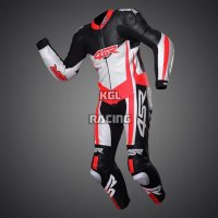 Leather race suit - 4SR Racing Superleggera Red