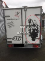 Rossi wall decal - BIG 95 x 46 cm