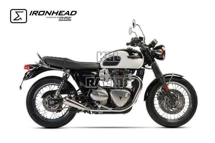 Strada 7 Motorcycle Comfort Grip Covers Triumph Bonneville T120 Black 2016