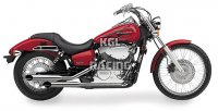 COBRA UITLAAT HONDA Aero 750 '04-07 / VT750C Shadow - FULL SYSTEM CLASSIC DELUXE STAGGERED DUAL