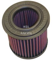 K&N Air Filter Nr: YA-7585 - YAMAHA BT1100 / TDM 850 / XJ900S DIV / FZR750