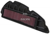 K&N Air Filter Nr: HA-3011 - HONDA SH300I 300 '07-'12