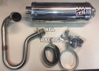 IXIL exhaust Buggy DAZON RAIDER 250 - OVAL ALU Short - PROMO