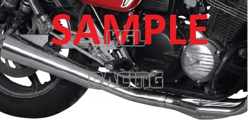 MAC full system for SUZUKI GS 650 E / ES / L / M / T / KATANA 81->83 -  4-IN-1 MEGAPHONES EXHAUST