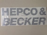 Hepco&Becker auto collant