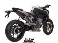 SC Project slip-on KTM 790 DUKE '18-'19 - S1-GP Titanium RACING