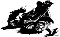 MOTOCROSS (2) sticker