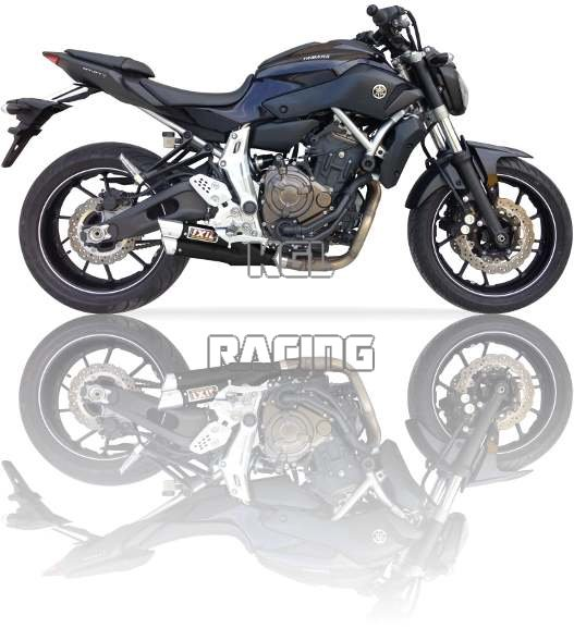 IXIL exhaust (full) Yamaha MT-07 / TRACER/ XSR 700 14/16 Hyperlow L3X black  full system