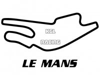 CIRCUIT LE MANS sticker