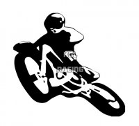 MOTOCROSS sticker