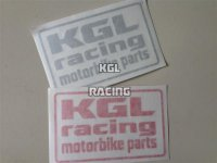 KGLracing motorbike parts sticker