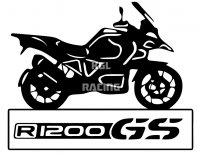 BMW R1200 GS MOTORBIKE sticker