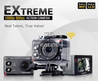 Isaw Extreme 1080p 60fps Full-HD camera, wifi+lcd