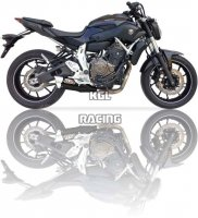 IXIL uitlaat Yamaha MT-07 / TRACER/ XSR 700 14/16 Hyperlow L3X black full system
