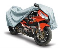 Indoor motorcycle cover, size M, grey