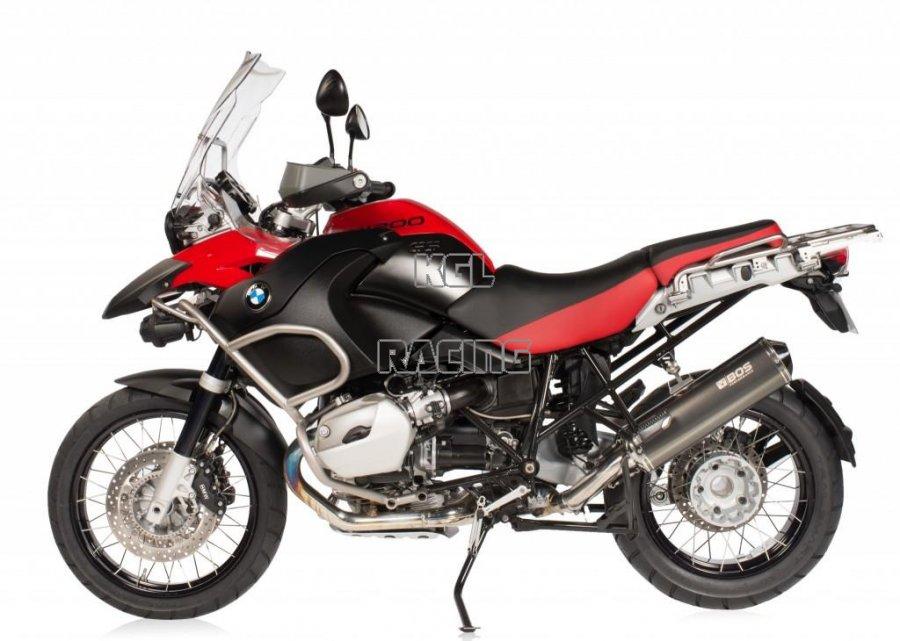 Auspuff STORM Black oval 400 mm BMW F 650 GS F 800 GS 2008 bis 2015