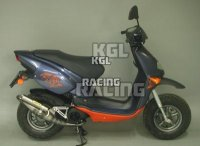 "Arrow voor Aprilia RALLY 50 AIR 1995/1999 - Extreme ""carbon"" scooter uitlaat"