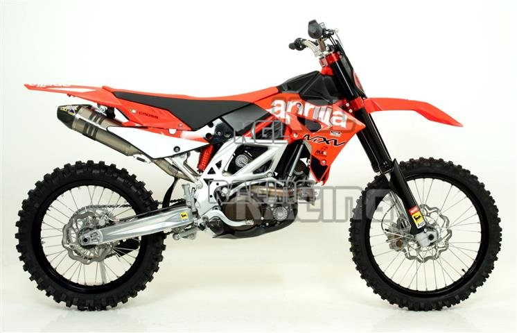 Arrow for Aprilia MX-V 4 5 2009/2013 - Off-Road MX Competition full system  with carby end cap