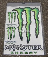 Monster Energy Sticker Extra extra large 35x50