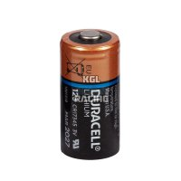Duracell battery CR123A for monimoto (per piece)