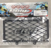 Radiatorgrill Puig for Kawasaki ER6-N '09-11 - black with ER6 logo
