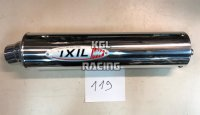 IXIL silencer Universal ROUND ALU, right (119) - PROMO