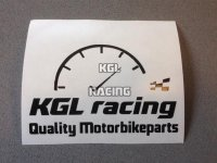 KGLracing speedo motorbike parts sticker