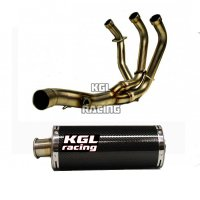 KGL Racing exhaust Yamaha MT-09/ TRACER '14-> - OVALE CARBON SHORT - PROMO