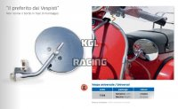 FAR Retroviseur Universel chrome - pince - FAR7358 (VESPA)