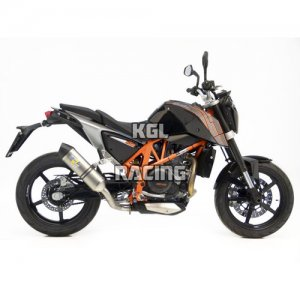 LEOVINCE for KTM 690 DUKE i.e. 2012-2016 - LV ONE SLIP-ON STAINLESS STEEL - PROMO
