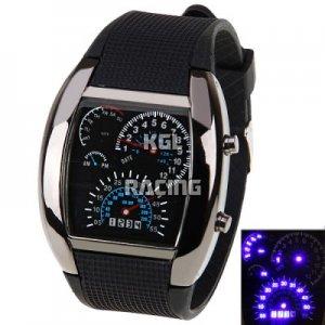 Race dashboard watch - black [racewatch] - €24.95 : The online motor shop for all bike lovers ...