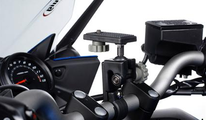 Camera bracket universal - for handlebar mounting