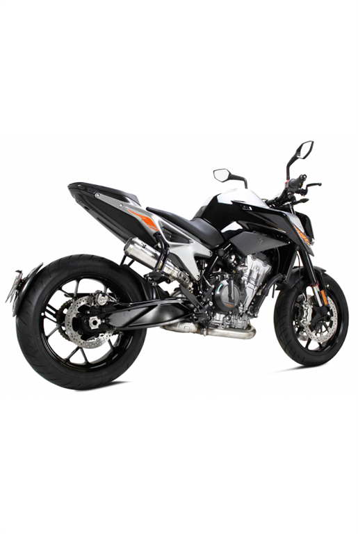 IXRACE for KTM DUKE 790 18- > - MK2 exhaust silencer INOX