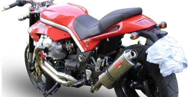 89e38dd2e40bb GPR pour MOTO GUZZI GRISO 1100 2005/08 POT D'ECHAPPEMENT HOMOLOGUE  CATALYSEE - TRIOVAL