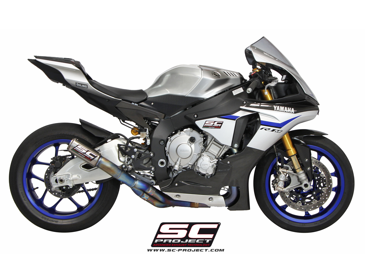 SC Project Exhaust YAMAHA YZF R1 R1M 2015